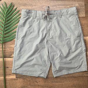 Altamont Sole Technology Mens Gray Shorts sz 33